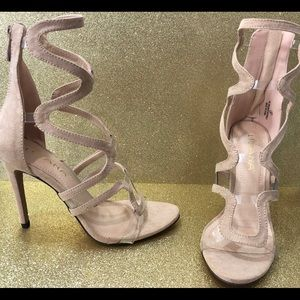 New with box nude heels